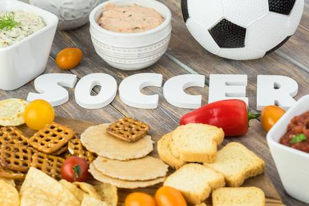 foods you eat before a game of soccer